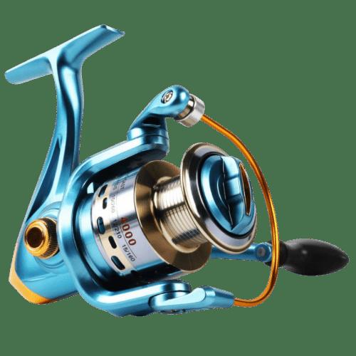 Sougayilang Fishing Reel Spinning 11+1bb LeftRight Interchangeable Spinner Gear