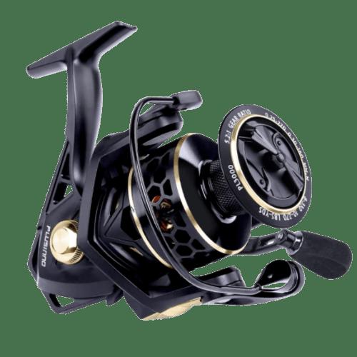 PLUSINNO Fishing Reel, 9+1BB Spinning Reel